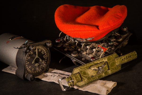 Alligator Bracelet with Silver'n'Diamonds Spirit of Bomber